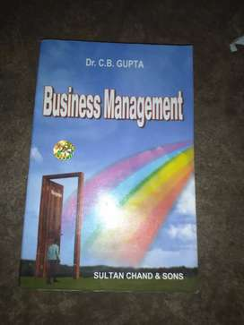 Business management, by Dr CB GUPTA