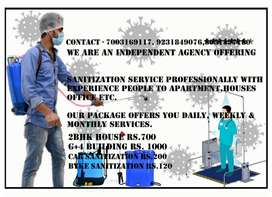 Room, Office, Car Sanitization at low cost