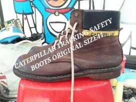 SAFETY BOOTS CATERPILLAR ORIGINAL size41 kndsi ok kulit asli bkn abal2