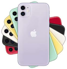 Apple iPhone 11.64 GB.Green & Silver Colours Available.