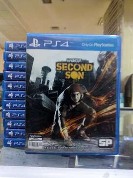 Hot Sale Kaset Game BD PS4 Infamous Second Son
