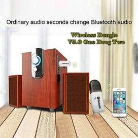 AESHOP USB Bluetooth Receiver BT-118 + Call Audio Reciever