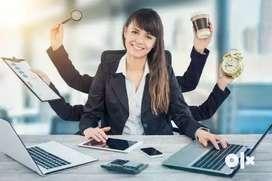 Receptionist/Female partime job/ Modelling/Event coordinator/calling