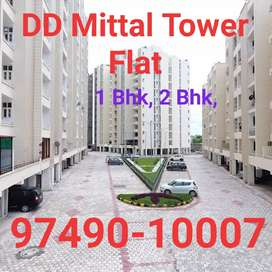 DD mittal tower independent Flat 1 Bhk, 2 Bhk