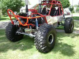 Rock bouncer buggy for resort