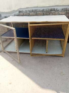 Cage for hens