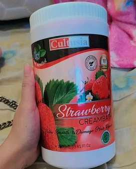 Masker rambut cultusia  strawberry