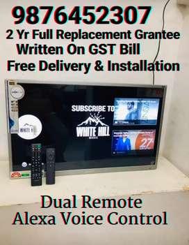 40 Smart Alexa Voice Control 4K Led Tv 2 Yr Replacement Grantee Bill