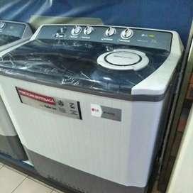 Kredit mesin cuci  LG 12kg 2 tabung
