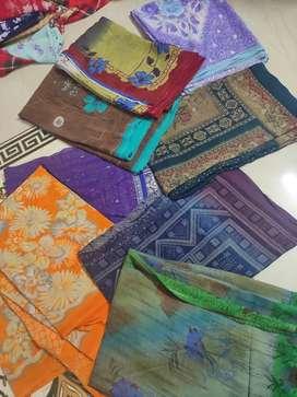 Starts at 50, 2nd hand sarees