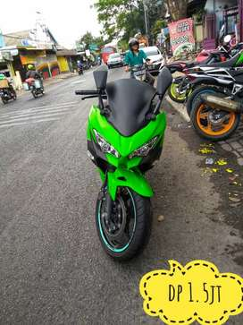 New Ninja 2018 hijau royo2 murmer banting harga, Mustika Motor Sukun