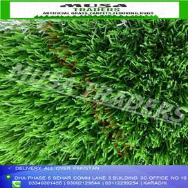 Lush Green Artifical grass