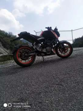 New bike ktm duke 125 cc