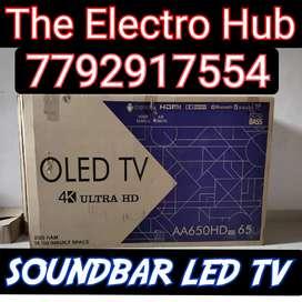 LED TV SMART SoundBar 4K Available