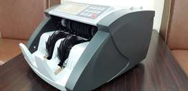 cash currency note counting machine with 100% fake note detection