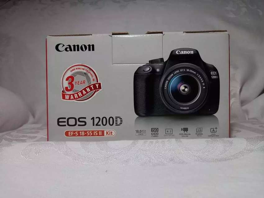 Canon 1200d like box pack 0