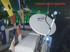 Antena TV Parabola Garmedia (Tanpa bayar bulanan)