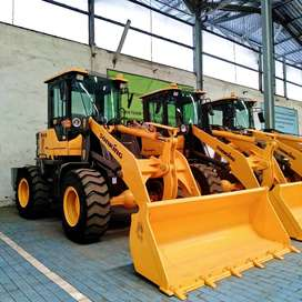Jual Beli Wheel Loader Murah Plus Turbo Ready di Prabumulih Power 76kw