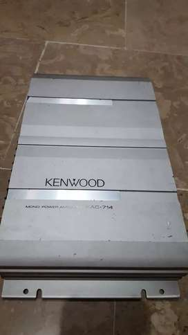 Original Kenwood Mono Block KAC-714 japan amplifier 1 channel