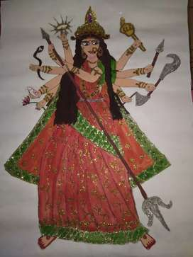 Painting of Durga MAA
