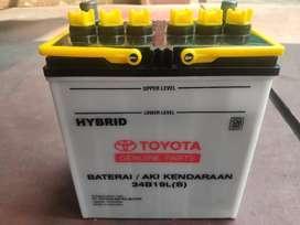 Aki Ori Toyota Genuine Parts utk Yaris, Vios, Sienta