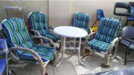 Boss Garden chairs Available