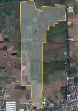 Dijual tanah 37 ha di Pucuk, Lamongan Peruntukan industri, Pintu masuk