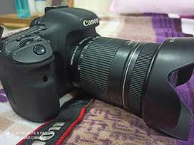Canon 7d with 18- 135 mm lens