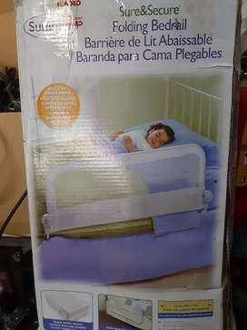 Pagar tempat tidur anak/ Summer Sure&Secure Folding Bedrail NEGO