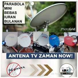 Antena Tv Parabola Satelit Tanpa Iuran Bulanan Hak Milik