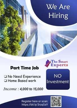 Part time job in தமிழ்நாடு