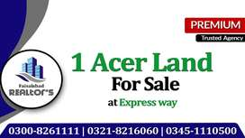 1 Acer Land For Sale For Cattle & Fish Farming & Farmhouse at fsd