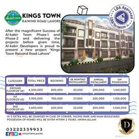 Smart Homes On Instalments In Kings Town By Al Kabir Developer Raiwind