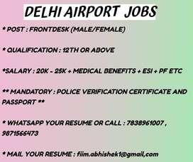 DELHI AIRPORT JOBS