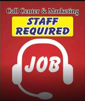 Call center job in lahore for female and male