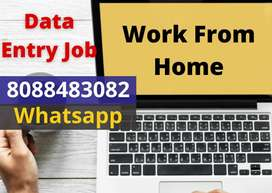 Work from Home.Data typing jobs with weekly payment. Earn daily 2000