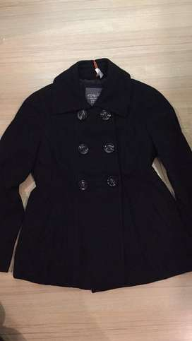 Black winter coat - branded