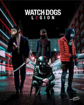 Watch dogs legion and all old new titals available