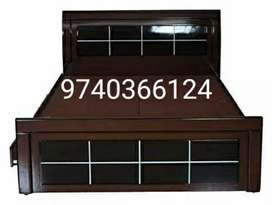 Bed in cheap price range all different sizes are available with us