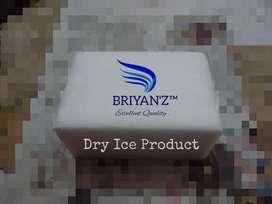 Dry Ice & Styrofoam Box
