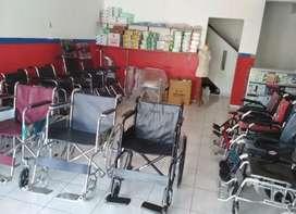 Toko kursi roda standar dan travelling new