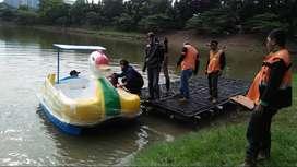 sepeda air bebek mini,bebek air kecil,perahu air bebek jumbo fiber