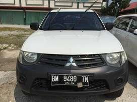 Dijual Mitsubishi Strada CR 2.8 AM GLX, Tahun 2014, Warna Putih
