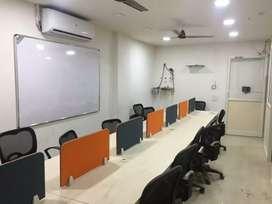 10 Work-Station 2cabin furnished office  Rent for Tukoganj 9981O27143