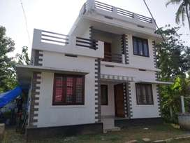 AN ATRACTIVE NEW 3BED ROOM 1100SQ FT 3CENTS HOUSE IN KUTTANELLUR,TSR
