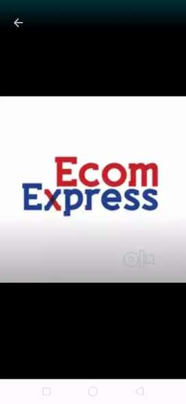 Ecom express hiring for delivery boys- license must