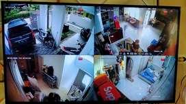 CCTV paket 4 kamera