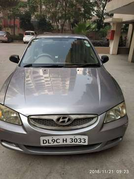 Hyundai Accent, 2005, CNG, PETROL