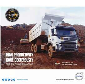 Dump Truk VOLVO FMX 400Hp 6x4R, Kab Konawe Selatan