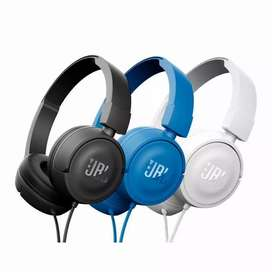 JBL T450 Foldable Wired On Ear Headphones with Mic-Garansi Resmi